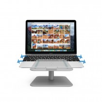 Monitor Stand Space Bar with Keyboard Mouse Storage